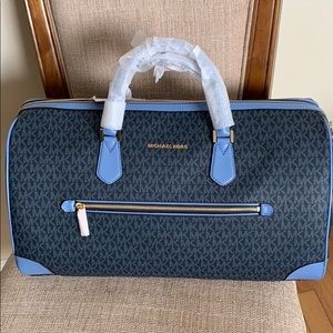 Michael Kors Travel Duffle French Blue